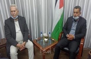وكيل اقتصاد حماس يجتمع بوفد من نقابة تجار الذهب لمناقشة عدد من التسهيلات
