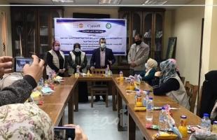 """""""حماية"""" تنظم لقاء توعوي في مستشفى كمال عدوان شمال قطاع غزة"""