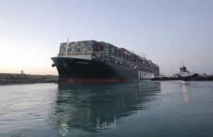 هيئة قناة السويس تؤكد: السفينة تعود لوضعها الطبيعي في القناة بصورة كاملة