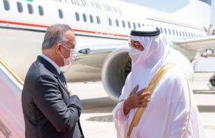 تفاصيل لقاء ولي عهد أبوظبي وحاكم دبي برئيس الوزراء العراقي