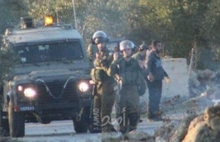 إصابة طفل باندلاع مواجهات مع قوات الاحتلال جنوب نابلس والخليل
