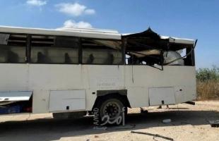 """القسام يعلن مسئوليته عن استهداف حافلة جنود بصاروخ """"كورنيت"""" وجيش الاحتلال يعترف بإصابة"""