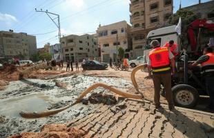 بلدية غزة: الأضرار التي سببها العدوان الإسرائيلي في البنى ما زالت غير قابلة للحصر الدقيق