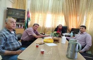 جمعية إنسان للعمل الوطني والإنساني تزور مركز تأهيل الفتيات في جنين