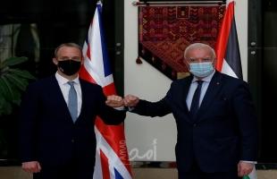 تفاصيل لقاء المالكي بوزير الخارجية البريطانية