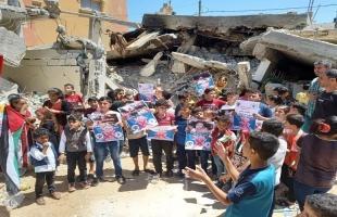 غزة: أطفال رفح يشاركون في وقفة غاضبة رفضاً لتصريحات ماتياس شمالي وتطالب برحيله