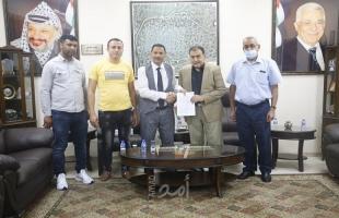 توقيع اتفاقية مشروع تأهيل شبكة الصرف الصحي في قلقيلية