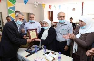قلقيلية: تكريم مديرة جمعية المرابطات الخيرية