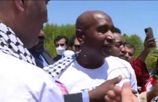 """الإفراج عن الأسير الأردني """"عبد الله أبو جابر"""" من سجون الاحتلال- فيديو وصور"""