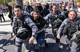 شرطة الاحتلال تمنع وصول مصلين من أم الفحم وعكا إلى الأقصى وتعتقل شابين