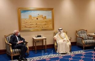 """وزير الخارجية الفلسطيني """"المالكي"""" يلتقي نظيره الكويتي"""