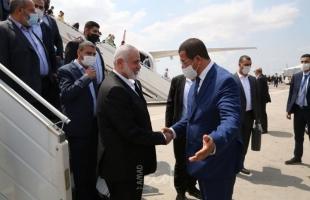 """المغرب.. هنية يبحث  الوضع الفلسطيني مع حزب """"التقدم والاشتراكية"""""""
