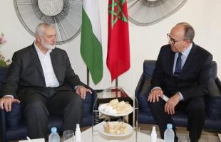 المغرب: هنية يلتقي رئيسي مجلس النواب والمستشارين