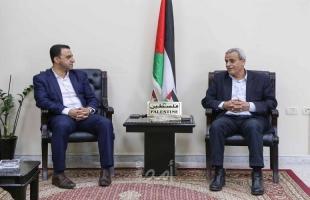 قلقيلية: المحافظ يلتقي الأمين العام  لاتحاد المعلمين الفلسطينين