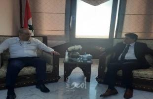 عبد الهادي يبحث مع وزير الإعلام السوري سبل التعاون الإعلام بين البلدين