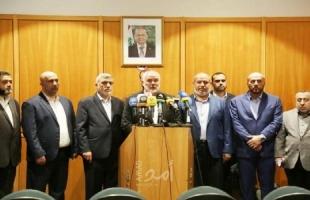 هنية: زيارة لبنان تكتسب أهمية خاصة لدى حماس