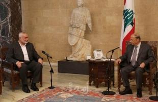 هنية: حماس حريصة على الانفتاح مع جميع الأطراف الإقليمية والدولية