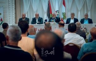 هنية: عودة اللاجئين الفلسطينيين حقّ شرعي لن نتخلى أو نتراجع عنه- صور