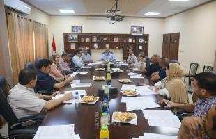 اجتماع المنتدى الاقتصادي للتنمية المحلية لمدينة قلقيلية