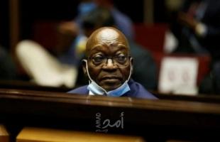 استئناف محاكمة رئيس جنوب إفريقيا السابق جاكوب زوما بتهم فساد