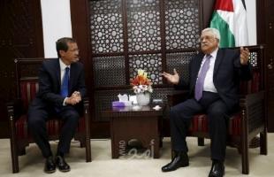 الرئيس عباس يتلقى اتصال تهنئة من الرئيس الإسرائيلي ووزير الجيش