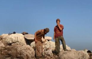 مستوطنون يحاولون الاستيلاء على أراضي المواطنين جنوب جنين- فيديو