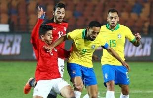 منتخب البرازيل يقصي مصر من أولمبياد طوكيو بهدف نظيف