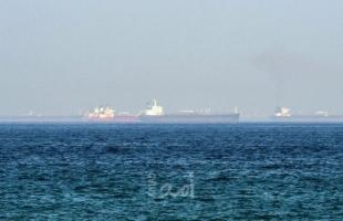 """مركز مراقبة البحرية البريطانية يعلن انتهاء مغادرة المقتحمين لـ""""ناقلة النفط"""" في بحر عمان"""