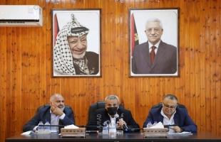 قلقيلية: وزير الثقافة والمحافظ يلتقيان الفعاليات الثقافية في المحافظة