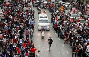 اشتباكات بين الشرطة التايلاندية ومحتجين قرب مقر إقامة رئيس الوزراء- فيديو