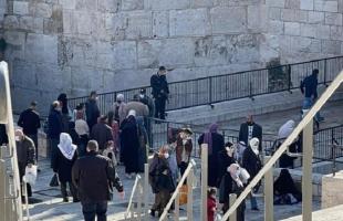 """شرطة الاحتلال تُعزز من قواتها في أحياء القدس ومحيط """"المسجد الأقصى"""""""