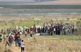 """أمن حماس ينتشر في """"ملكة"""" ويخلي""""شارع جكر"""" شرق غزة من المتظاهرين"""