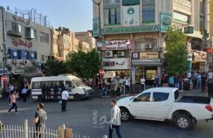 """رام الله: أمن السلطة يعتقل العشرات خلال مظاهرة منددة بمقتل """"نزار بنات"""" - صور"""