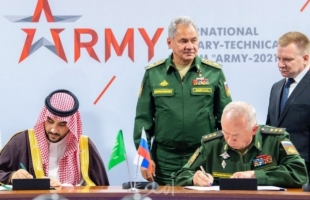 السعودية تعلن توقيع اتفاقية تعاون عسكري مع روسيا