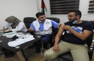 صحة حماس: إجمالي المطعمين بغزة وصل إلى نحو ربع مليون مواطن