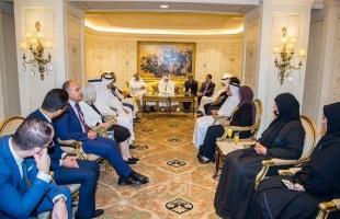 البرلمان العربي يقيم حفل استقبال للشيخ خليفة بن محمد بن خالد آل نهيان بالقاهرة