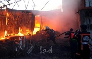 الدفاع المدني يتعامل مع 36 حادثًا بالضفة