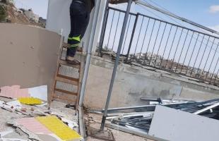 شرطة الاحتلال تجبر مقدسياً على هدم غرفتين من منزله- صور