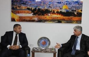 مجدلاني يبحث مع السفير المصري آخر المستجدات السياسية