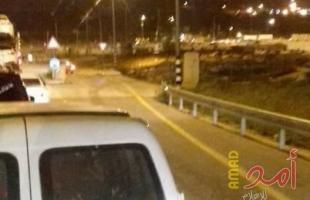 نابلس: قوات الاحتلال تعتقل شاب على حاجز زعترة