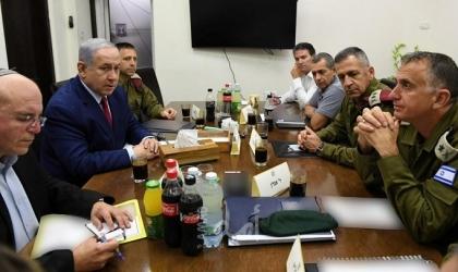 """هآرتس: وزراء """"الكابينيت"""" وجهوا انتقادات شديدة للجيش الإسرائيلي"""