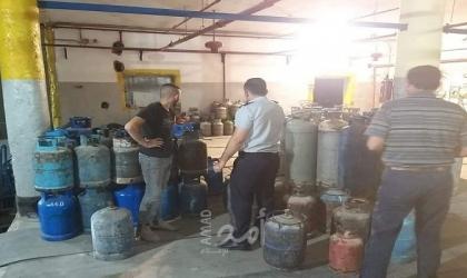 بيت لحم: جولات تفتيشية مفاجئة على محطات توزيع الغاز