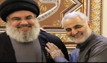 لأول مرة .. الإعلام الإيراني ينشر صور لسليماني ونصر الله