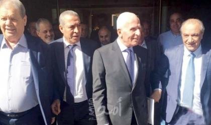 وفد فتح يغادر العاصمة المصرية