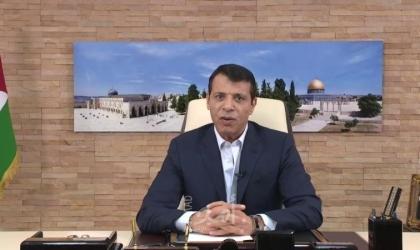 دحلان يُوجه رسالة لأهل الضفة المنتفضين نصرةً للقدس وغزة