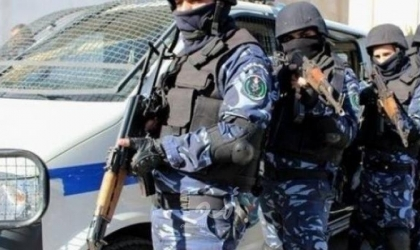 الشرطة تضبط قطعتي سلاح وتقبض على  أشخاص في جنين