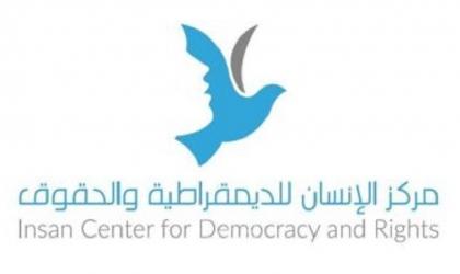 """""""الإنسان"""" يدين مسيرة الاعلام وانتهاكات قوات الاحتلالوالمستوطنين المتواصلة بالقدس"""