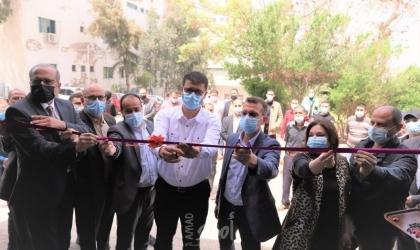 صحة حماس تدشن محطة لإنتاج الأكسجين بمجمع الشفاء الطبي في غزة