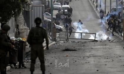 إصابات واعتقالات خلال مواجهات مع قوات الاحتلال بالضفة والقدس