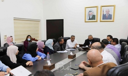 قلقيلية: اجتماع المجلس المحلي للتشغيل